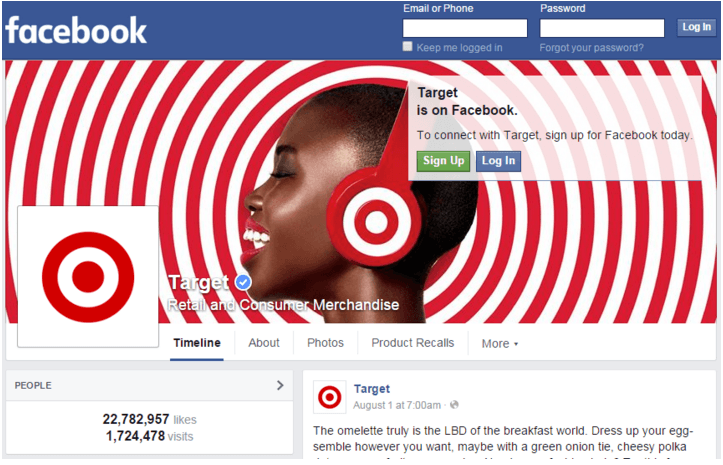 Target fanpage by DotComindonesia