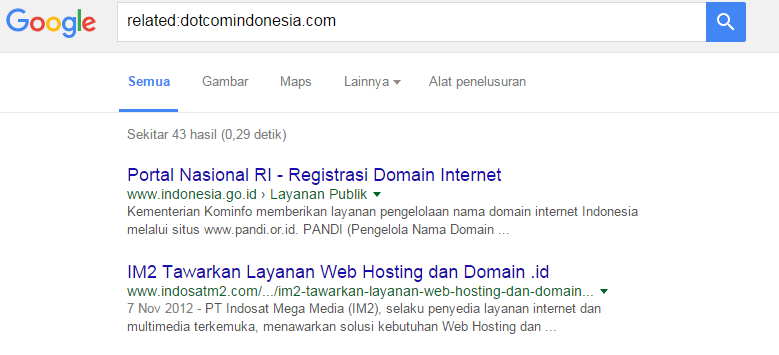 Related website dotcomindonesia